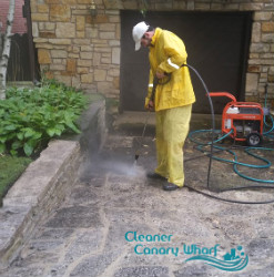 Pressure Patio Cleaning